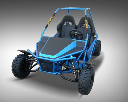 Rack And Pinion Cost >> Jet Moto 150cc Go Kart, Automatic - Bucket Seats, Rugged Suspension - KartQuest.com