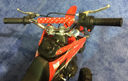 Jet Moto 50 Ultra Mini Dirt Bike, 4-Stroke - NO Gas & Oil Mixing! Inverted Forks - FREE SHIPPING
