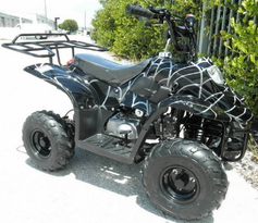 In Stock Jet Moto Series Ranger R1 Camo Colors -Youth 110cc ATV  with Rack- Fast Free Shipping -  Auto-Trans -ATV T039