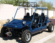 JOYNER T-4 Trooper 4-Seater - Built to Order - 1100cc DOHC 86hp 4 x 4 - Dump Bed - CALIF LEGAL MODEL!