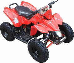 "Kicker Electric ATV ""Mini Banshee"" with Reverse - 350 Watts / 24 Volts - Perfect for Little Kids!  Fully Adjustable Shocks! FREE SHIPPING"