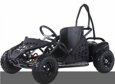 sold out Kicker EX1000 Electric Go Kart - 48 Volts - Speeds to 16mph! Calif Legal!