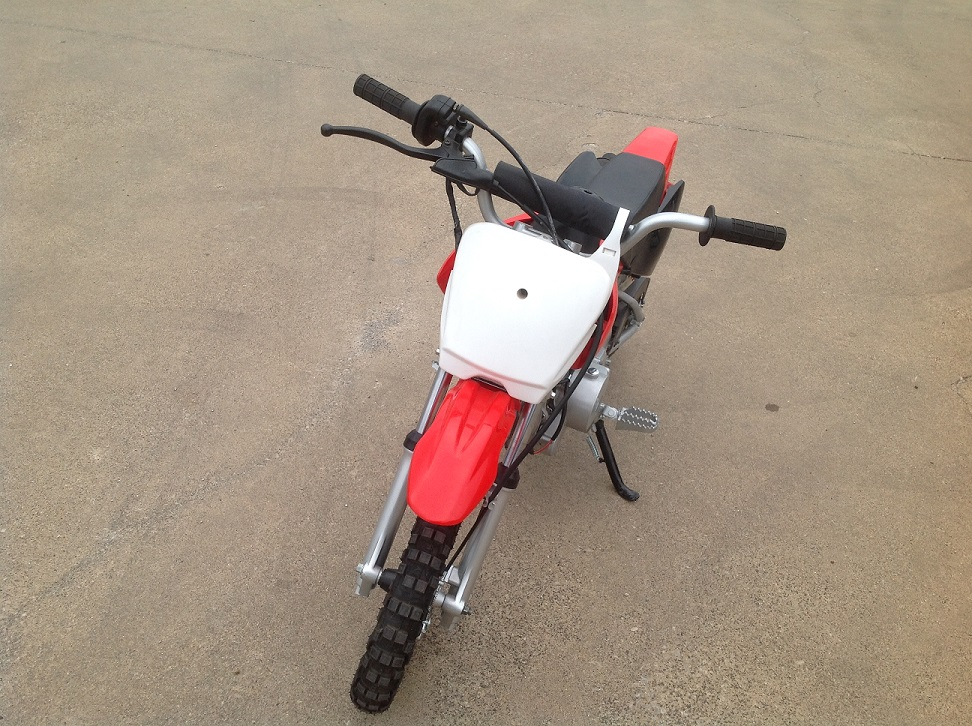 Electric Dirt Bike For Kids >> Kymoto Youth 50cc Dirt Bike - Electric Start - Fully Automatic - KartQuest.com