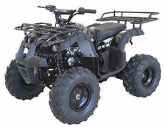 "Kymoto LT Elite Youth Quad R9  Mid-Size Deluxe Sport / Utility ATV - Fully Automatic - Upgraded Suspension - 19"" Tires - Hydraulic Disc Brakes - Free Shipping"