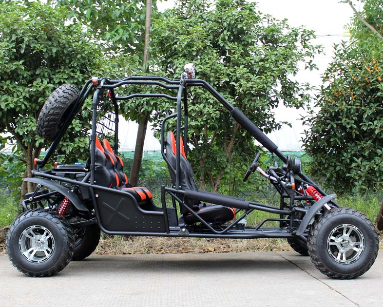 4-Seat Deluxe Go Cart 200cc - Automatic - Disc Brakes - Free