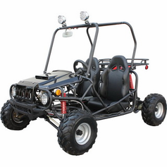 Jet Moto-125cc Jeep Style Go Kart - Buggy - Youth Size - NOW Semi Automatic With Reverse -