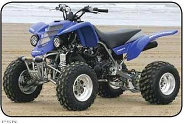 Maier 189726 Blue Fender for Yamaha Warrior