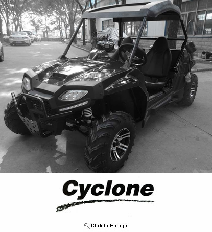 NEW Cyclone 2018 ULTRA Extended for Adults MX 150CC  - UTV Side X Side!