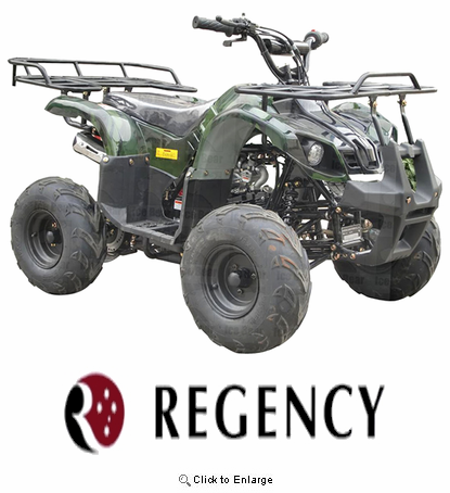 Regency Sport / Utility 110 ATV with Reverse! Fast FREE Shipping! Best Quality!