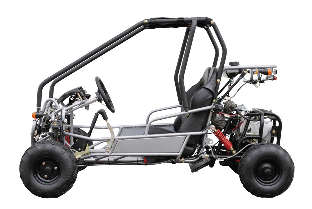 Kandi GK110-2 Go Kart - Youth Model - Automatic - Full Suspension ...