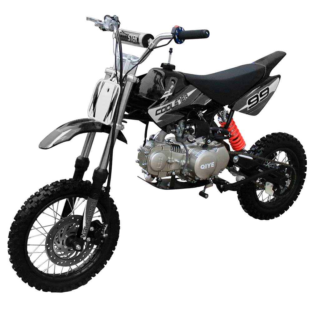SRM125 Dirt Bike - Deluxe Model Manual Transmission - Custom Graphics - Kartquest
