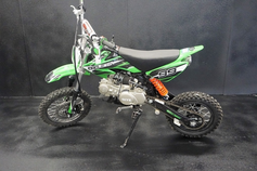 "SRM-125 Ultra Dirt / Pit Bike - Select Manual or Semi-Auto ""Honda Clone Engine"" Upgraded Suspension - Custom Graphics"