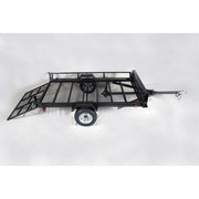 Star II With Rear Ramp and Side Load - 2 ATV Model - Cargo - Utility Trailer with Loading Gate Kit - FREE SHIPPING