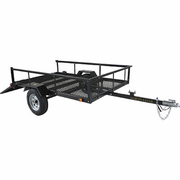 Star Loadstar I XL Utility ATV Trailer - Rear Ramp Loader - 8' Deck - 5ft. x 8ft. - FREE SHIPPING