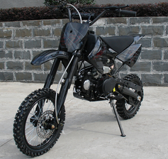 APOLLO ULTRA DELUXE 125cc PIT/DIRT BIKE. FREE SHIPPING!