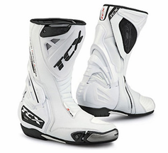 TCX BIAN S-Race Racing Boot - White - Free Shipping - Lowest Price Guaranteed! Motobuys.com