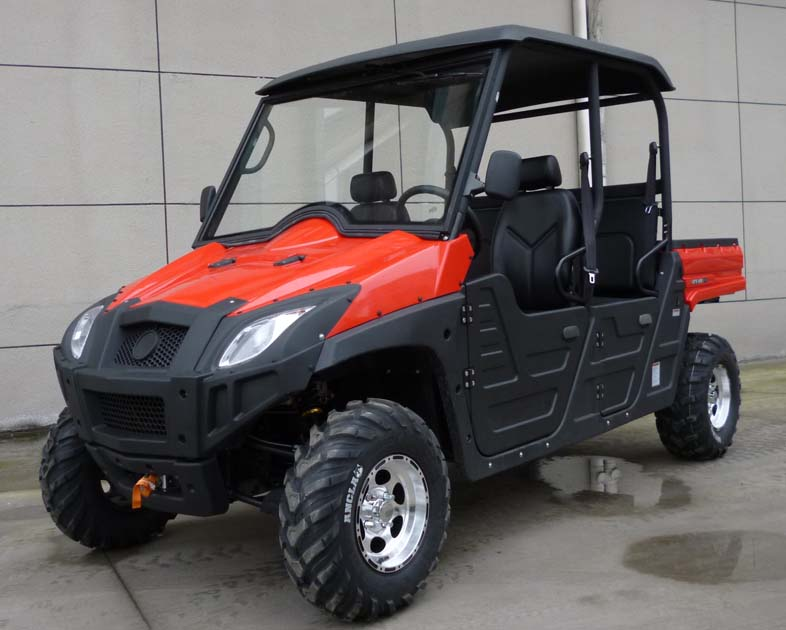 utv titan 4x4 600cc 5 seater side by side vehicle with fuel injection automatic transmission. Black Bedroom Furniture Sets. Home Design Ideas
