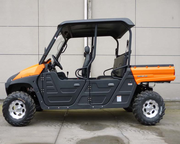 Titan UTV - 600cc 5-Seater Utility Vehicle - Fuel Injection Engine - 4x4/2x4 Switchable - w/ Stereo, Convertible roof