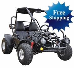 "Trailmaster XRS 150 Buggy / Go-Kart.-Now With 5-Point Harness - <b><font color=""red""><font size=""4"">FREE HELMET! - Calif Legal </font></font></b>"