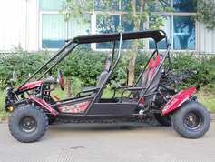 TrailMaster Blazer4 150X - Seats 4 adults up to 6�2 in height, Calif Legal!! -