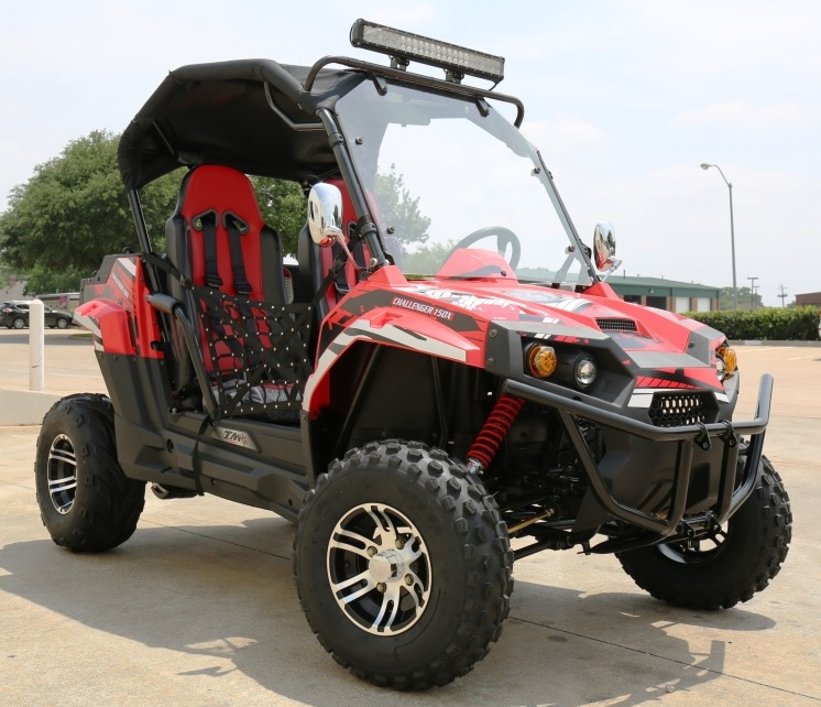 Trailmaster Challenger 150 X Adult Amp Youth Size Utv