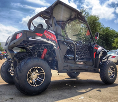 "Trailmaster Challenger 300-X Ultra UTV - Deluxe Extended Adult Version <b><font color=""red""><font size=""4"">Calif Legal </font></font></b>"
