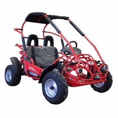 "Trailmaster XRX Mid-Size Go Cart - Full Suspension - Larger 200cc Engine - <b><font color=""green""><font size=""3"">NOW Calif Legal</font></font></b>  -"