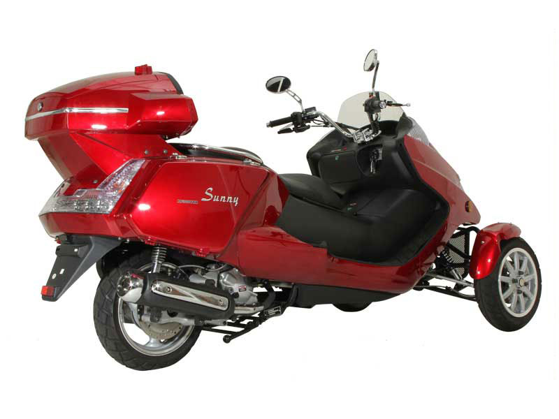 300cc motor scooter for sale with alarm and free shipping for 3 wheel motor scooter for sale