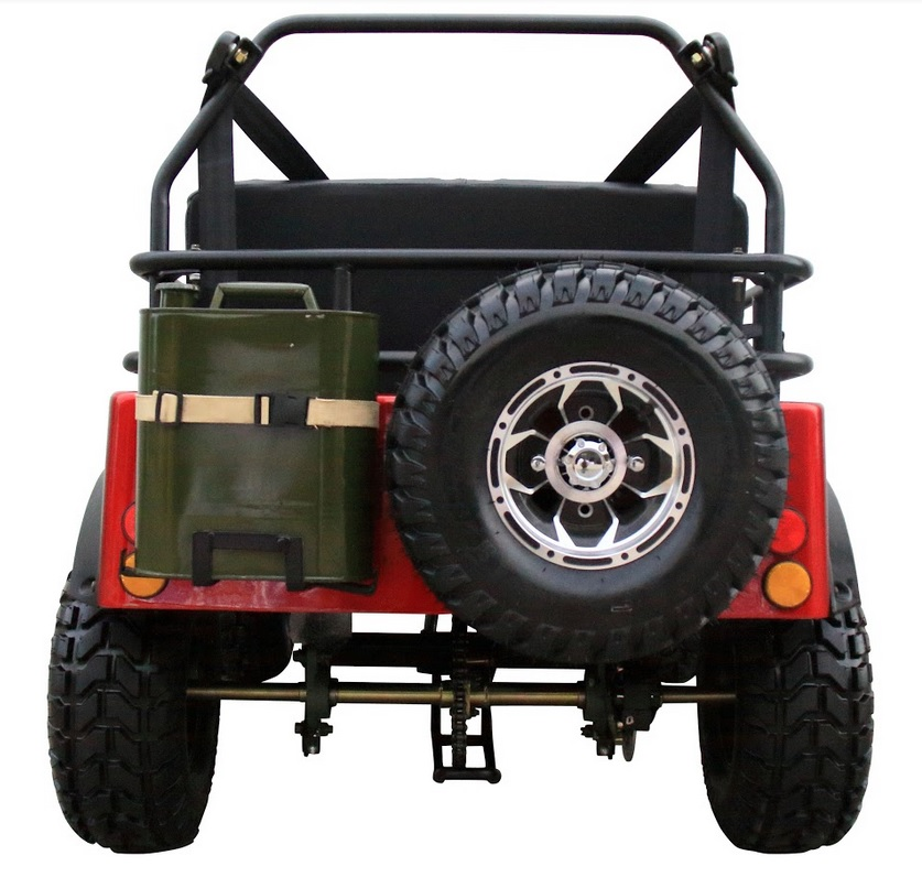 cdce13841b3 Coolster Mini Jeep 6125A - FREE Spare Tire & Gas Can , FOLDING ...