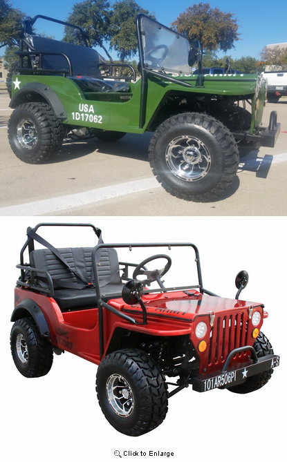 "Willy's Deluxe Mini Jeep - Series 2 - ""Special Sale"""