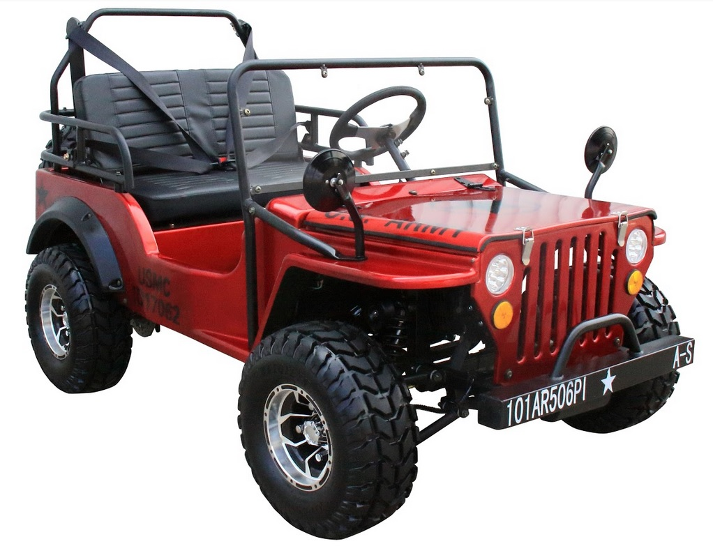 Coolster Mini Jeep 6125a Free Spare Tire Amp Gas Can Folding Windshield Free Shipping