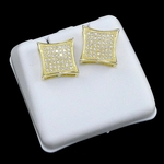 Kite Gold Plated 11MM  Earrings