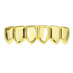 Gold 2 Open Lower Grillz