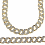 "30"" x 18MM Chain Gold Sandblast"
