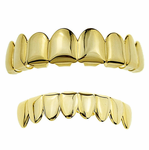 Gold 8/8 Teeth Best Grillz Set