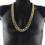 "30"" x 16MM Gold Cuban Chain"