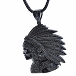 Black Indian Chief Franco Chain