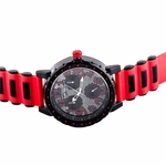 Black And Red Bullet Band Watch