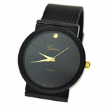 Black Flat Band Watch