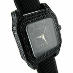 Midnight Black Squared Watch