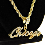 """Chicago 24"""" Gold Rope Chain"""