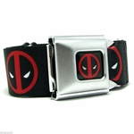 Deadpool Logo Seatbelt Belt