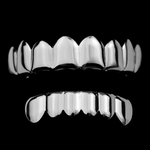 Cartel Silver 8/6 Grillz Set