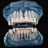 Silver Fangs Half Grillz Set