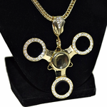 Black Fidget Spinner Chain