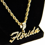 """Florida 24"""" Gold Rope Chain"""