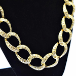 "Gold  30"" x 20MM Cuban Chain"