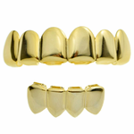 Gold 6/4 Teeth Best Grillz Set
