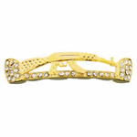 Gold AK-47 Iced-Out Top Grillz