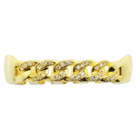 Gold Cuban CZ Top Grillz